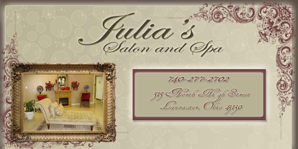 Julia's Salon & Spa Lancaster Ohio